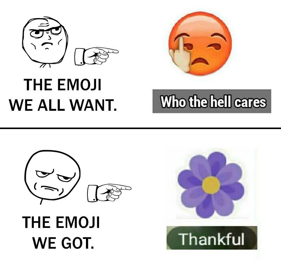 grateful, thankful emoji