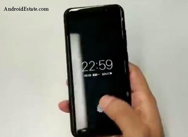 onscreen fingerprint scanner
