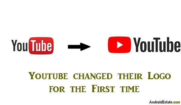 YouTube changed logo