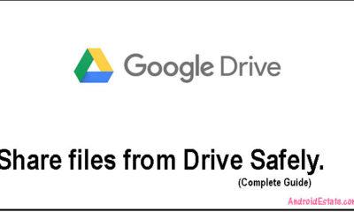 Drivesharingfeature